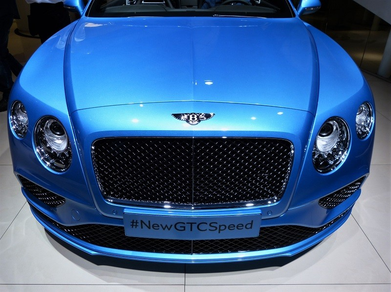 Bentley Continental GT Speed - Front - IAA2015