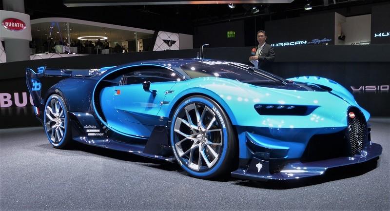 Bugatti Vision Gran Turismo - IAA2015
