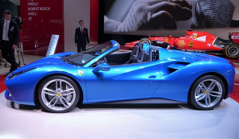 Ferrari 488 Spider - IAA2015