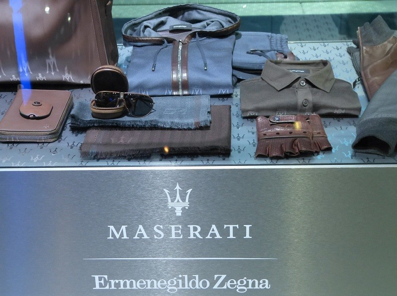 Maserati + Ermenegildo Zegna - Capsule Collection - IAA2015