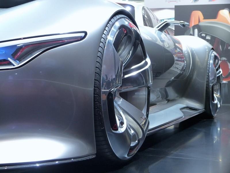 Mercedes-Benz AMG Vision Gran Turismo - Details - IAA2015