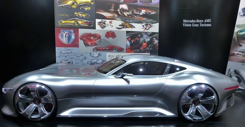 Mercedes-Benz AMG Vision Gran Turismo - IAA2015