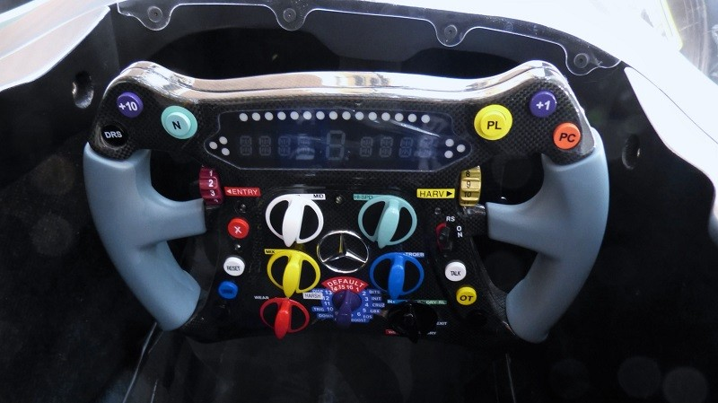 Mercedes Benz Formula One Cockpit - IAA2015