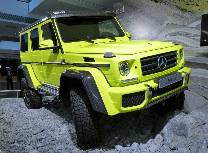 Mercedes-Benz G 500 4×4² - IAA2015