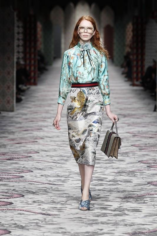 Milano Moda Donna - GUCCI Women's Spring/Summer 2016