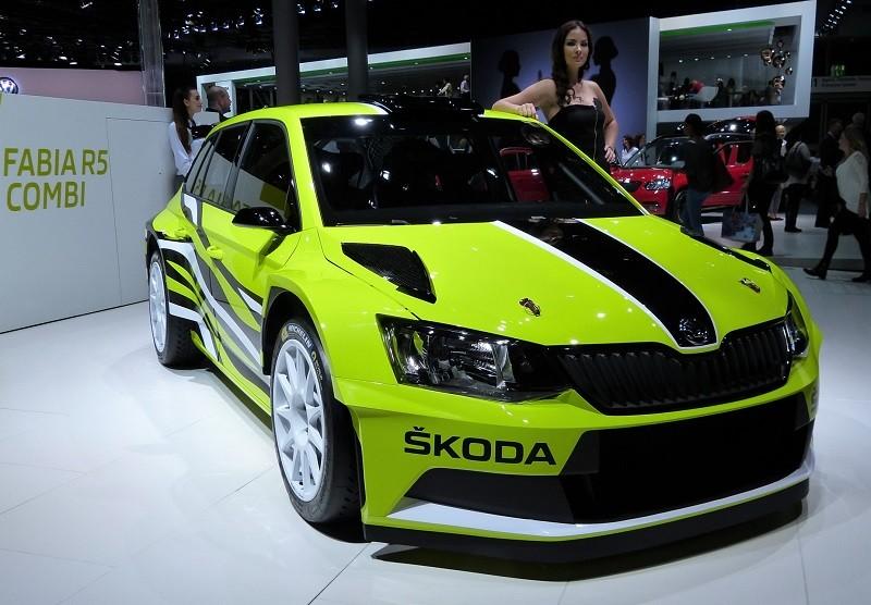 Skoda Fabia R5 - IAA2015