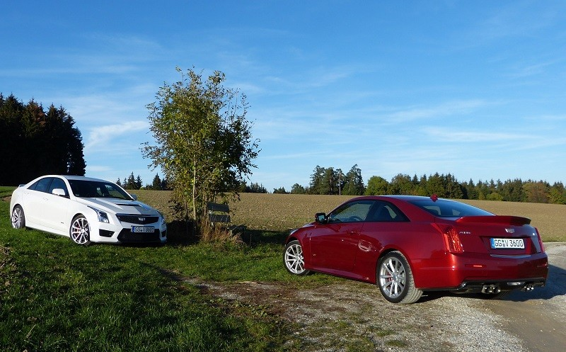 Cadillac ATS-V Limousine and Coupe
