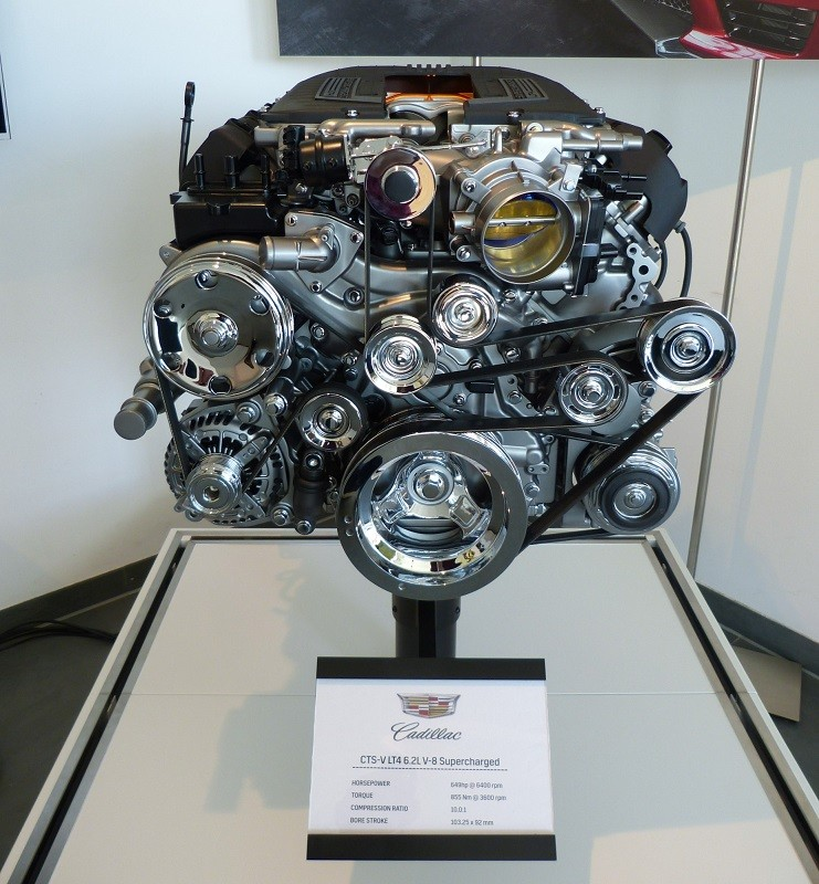 Cadillac CTS-V Engine - 649hp