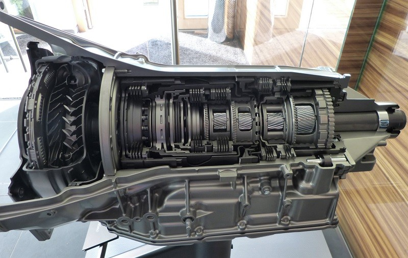 Transmission of the Cadillac V-Series