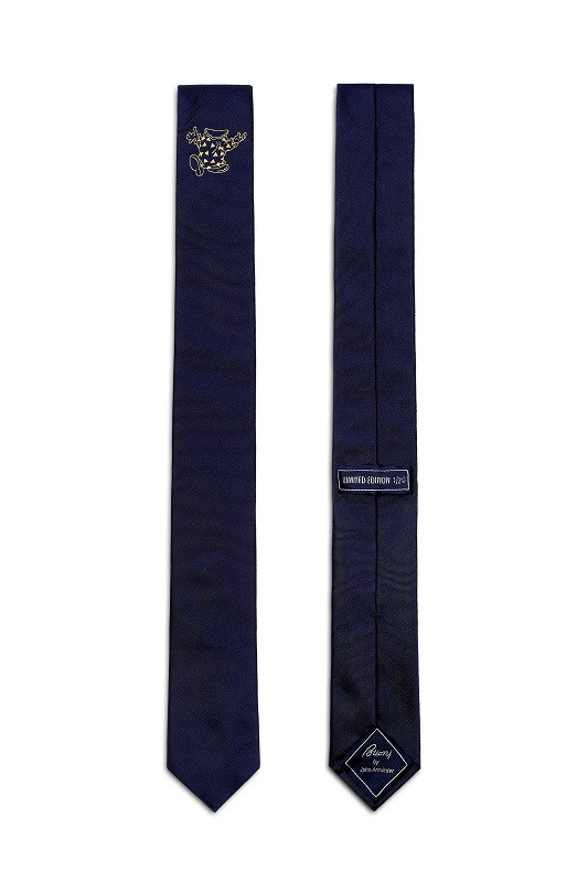 Brioni limited edition tie by John Armleder