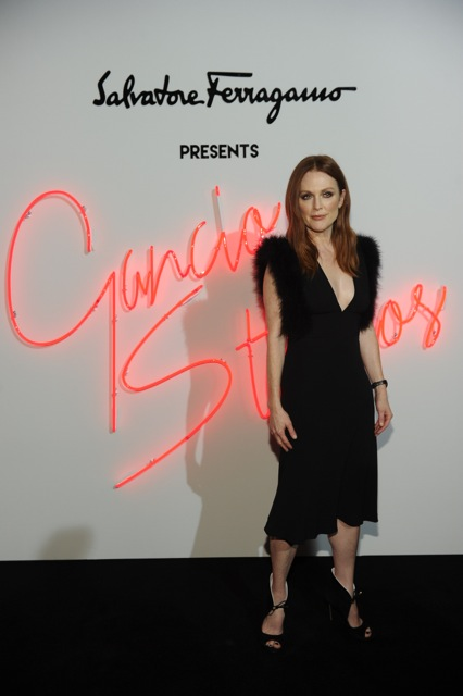Julianne Moore for Salvatore Ferragamo in New York City