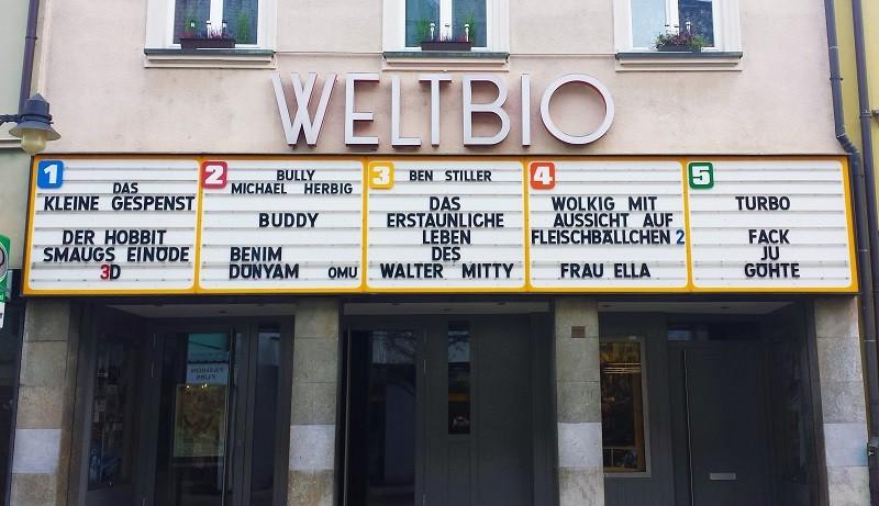 Kinoeingang - Awards