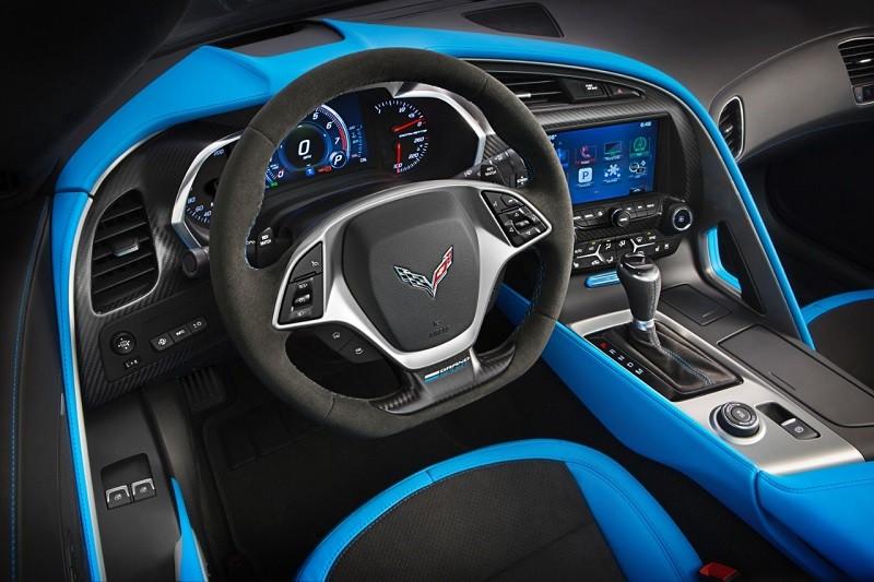 Corvette Grand Sport - innen