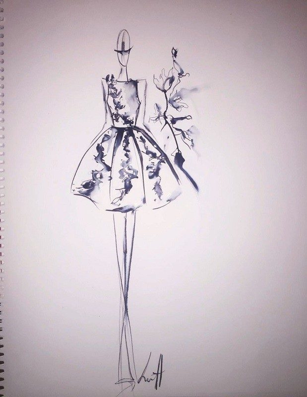 Irene Luft Fall/Winter 2016/17 - Sketch