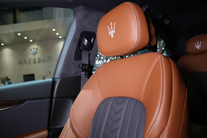 Maserati Levante with Ermenegildo Zegna interior_2