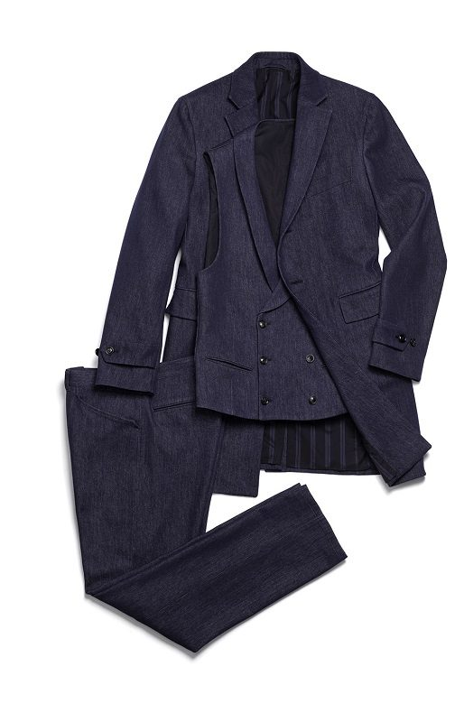 Ermenegildo Zegna Fall/Winter 2016/17 Kollektion - Trofeo Wool Denim