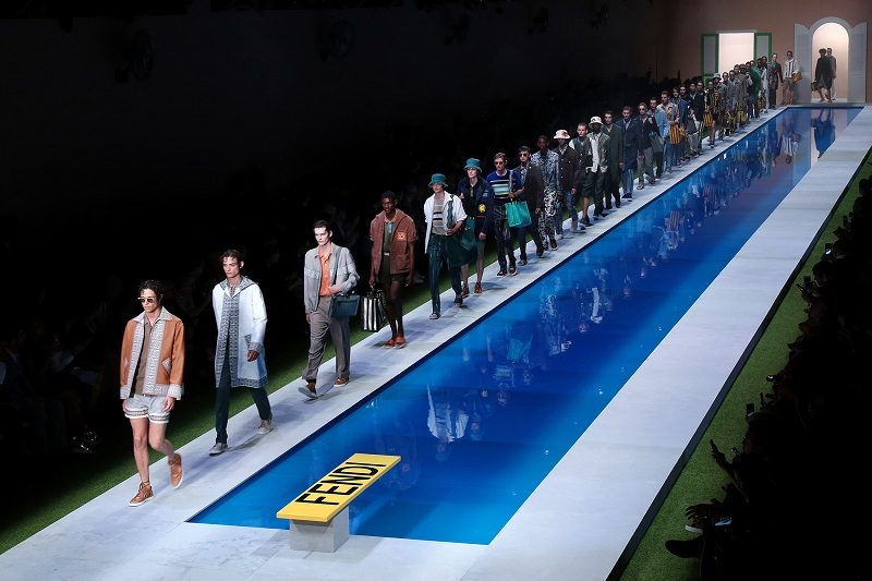 FENDI Spring/Summer 2017 Menswear Collection – Milan Fashion Week - Finale