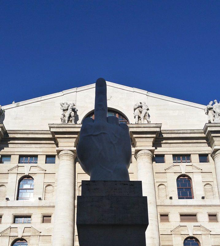 Piazza Affari in Milan