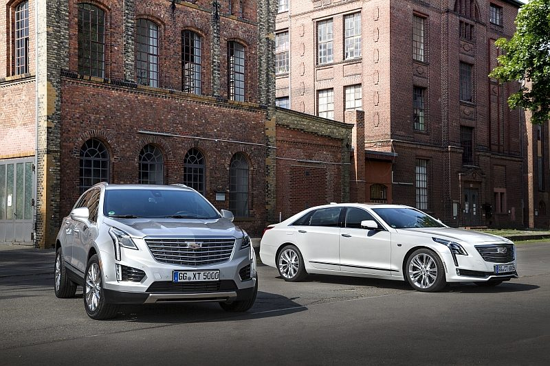 New Cadillac XT5 and CT6