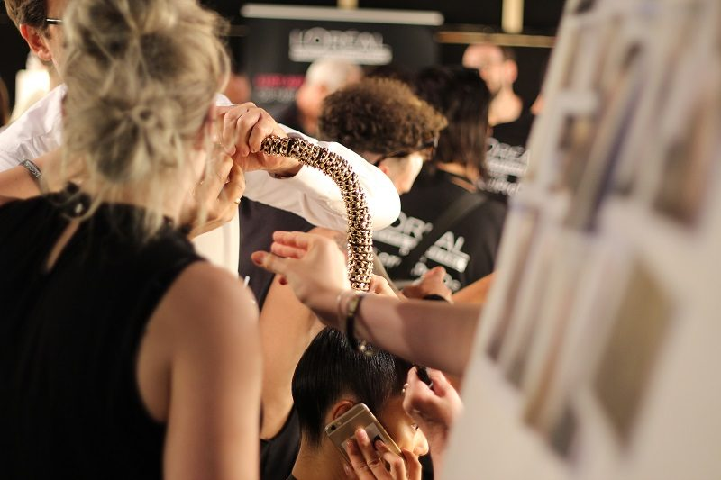 Irene Luft Spring/Summer 2017 – Mercedes Benz Fashion Week Berlin - Backstage