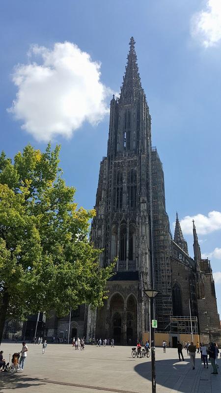 Das Ulmer Münster Der Höchste Kirchturm Der Welt Olschis World