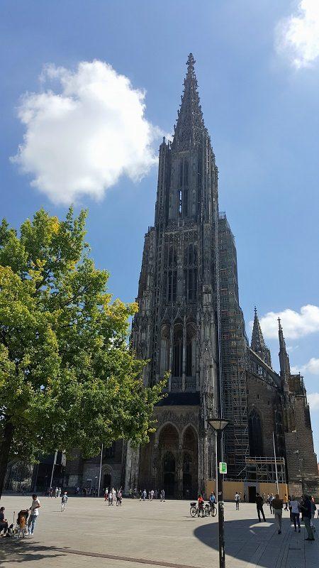 Der höchste Kirchturm der Welt - das Ulmer Münster