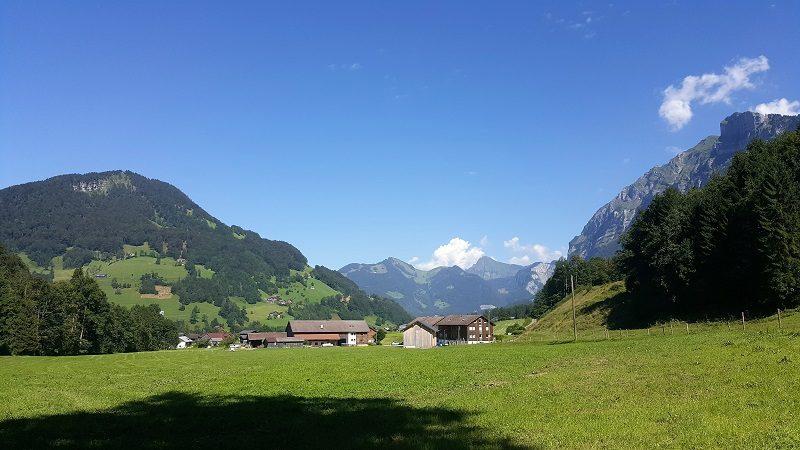 Landschaft in Mellau/Vorarlberg