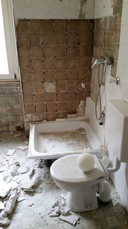 Sanierung des Bades