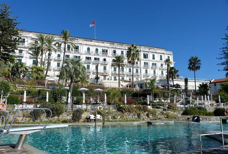 Royal Hotel Sanremo - mit Meerwasserpool