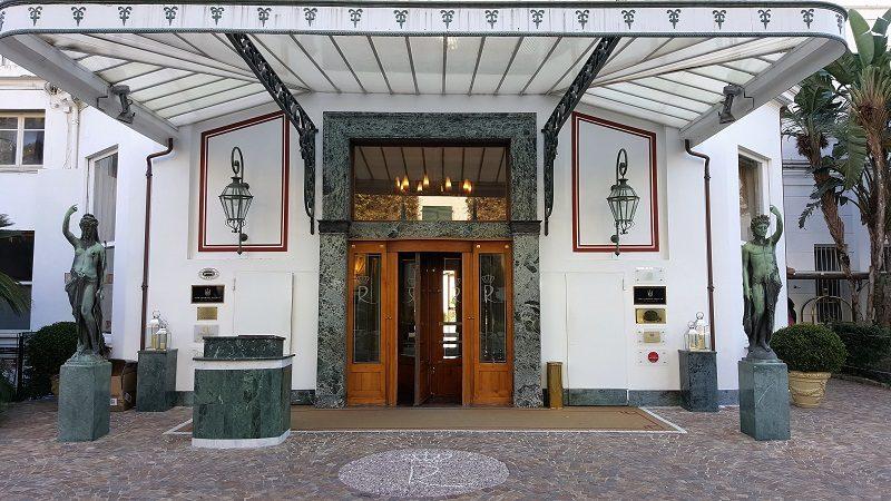 Royal Hotel Sanremo Eingang