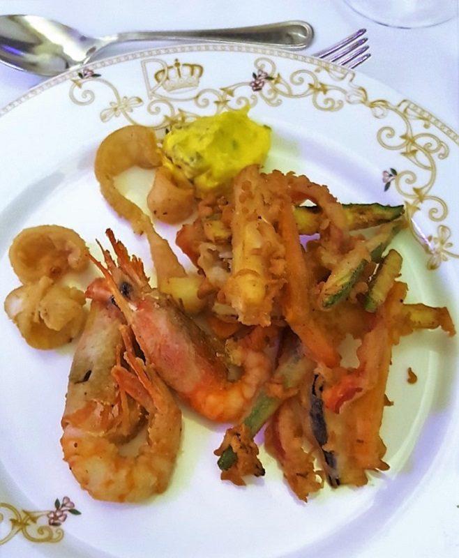 Dinner im Royal Hotel Sanremo