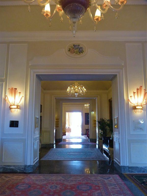 Eingang vom Royal Hotel Sanremo
