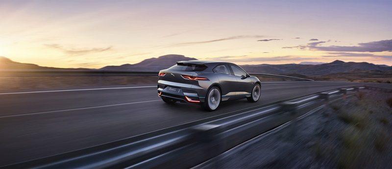 Jaguar I-PACE Concept - Rear