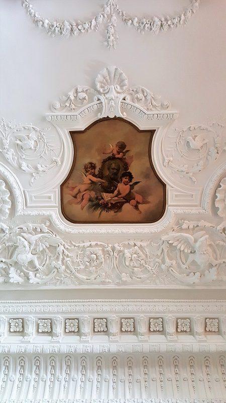 Royal Hotel Sanremo Decke