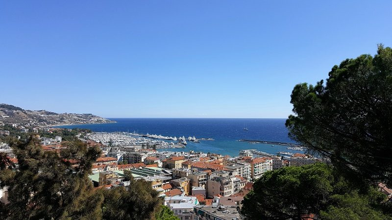 Sanremo von oben
