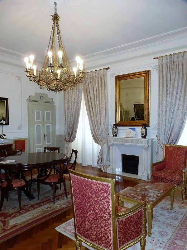 Teil der Sissi Suite im Royal Hotel Sanremo