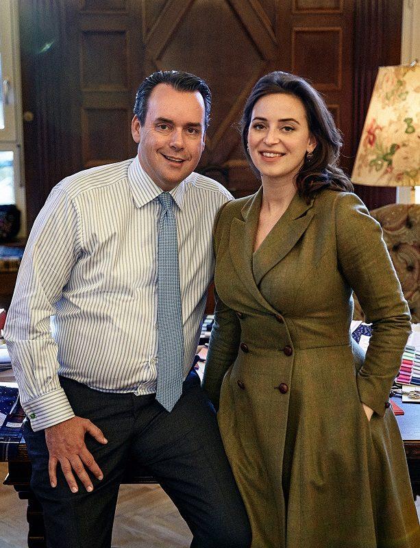 Lena Hoschek und Gino Venturini
