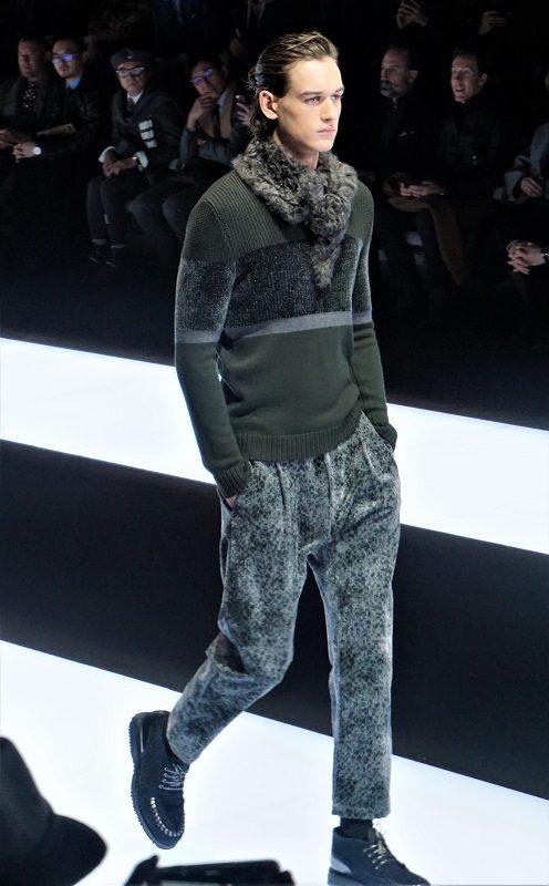 Emporio Armani Fall/Winter 2017/18 – Milano Moda Uomo