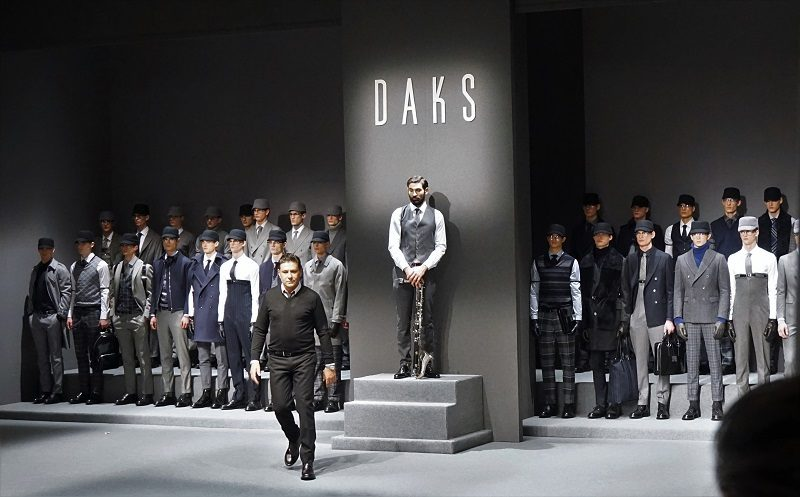 DAKS London Fall/Winter 2017/18 – Milano Moda Uomo