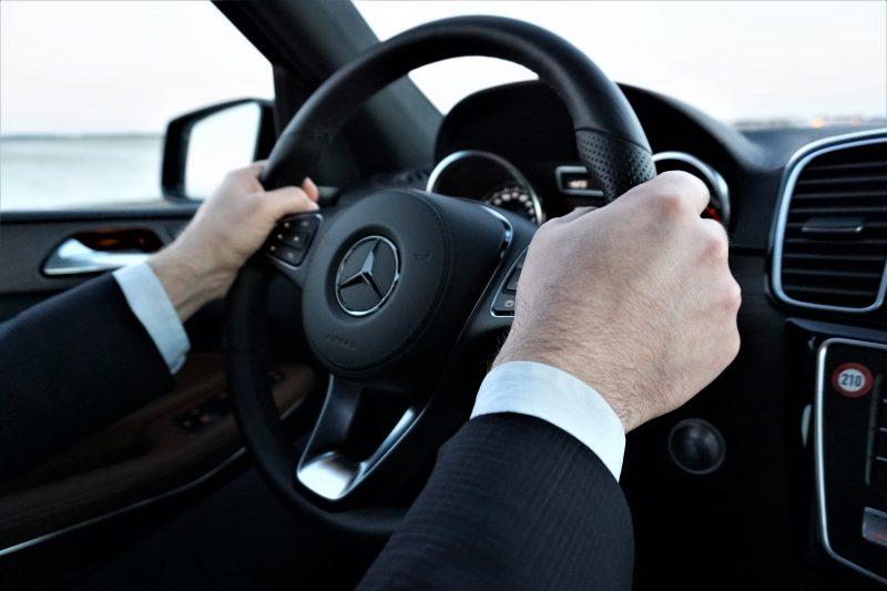 Mit dem Mercedes Benz GLS 500 nach Mailand