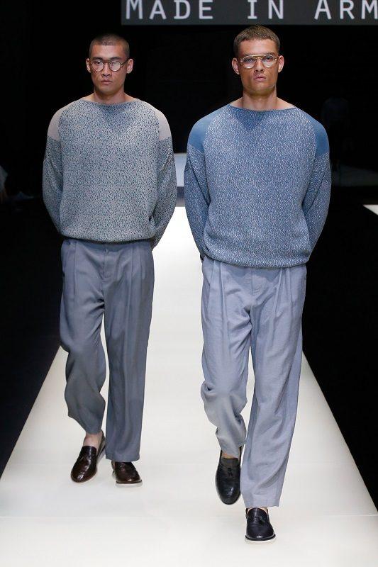 Giorgio Armani Spring/Summer 2018 – Milano Moda Uomo