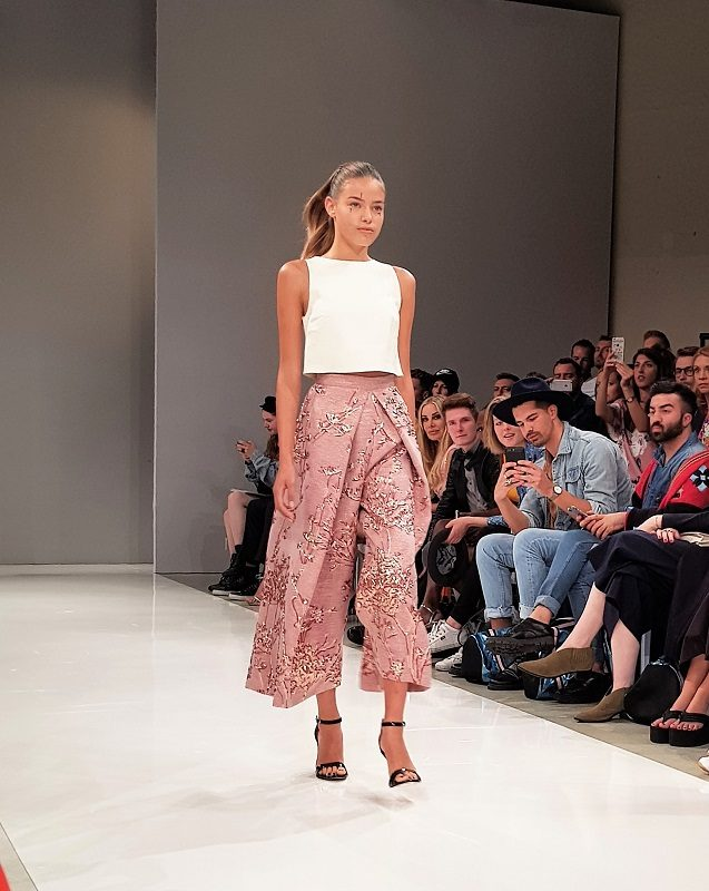 Irene Luft Spring/Summer 2018 auf der Fashion Week in Berlin