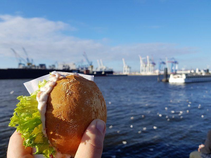 Fischbrötchen in Hamburg
