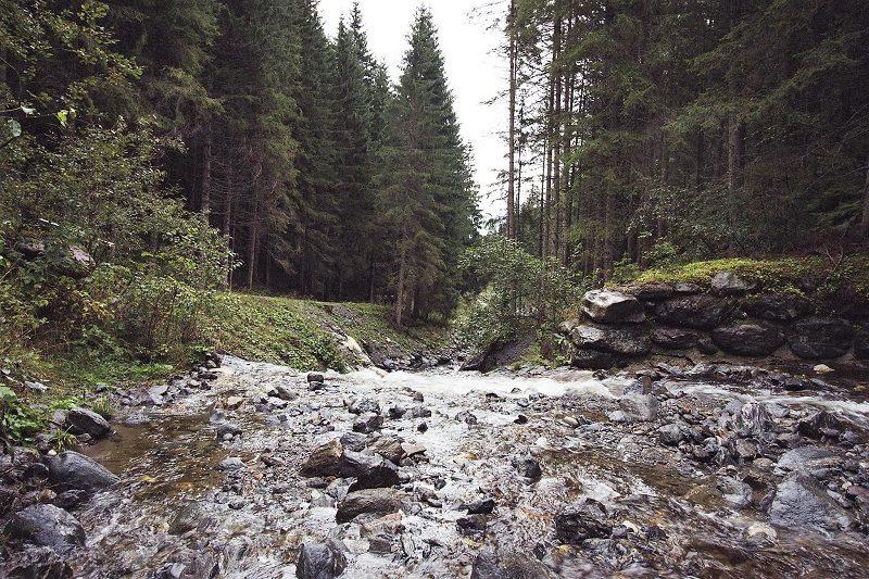 Die Leisnitz im Salzburger Lungau
