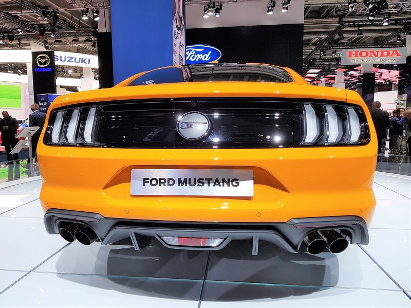 IAA 2017 - Facelift Ford Mustang GT