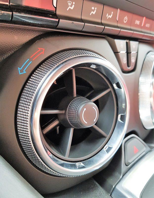 Chevrolet Camaro 6.2 V8 MT Coupé - Lüftung