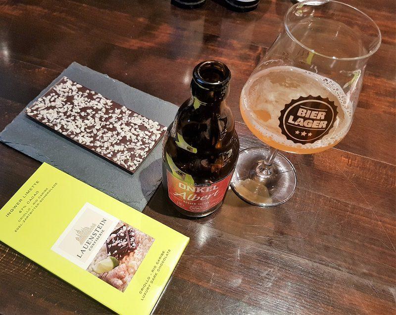Craftbeer und Schokolade im Schokoladenmuseum in Köln