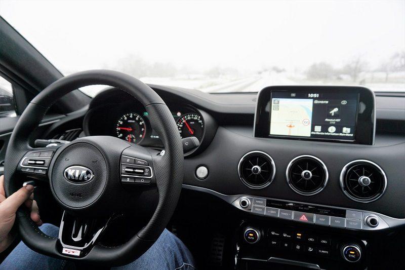 Der Kia Stinger von Beständig Autowelt - Innen