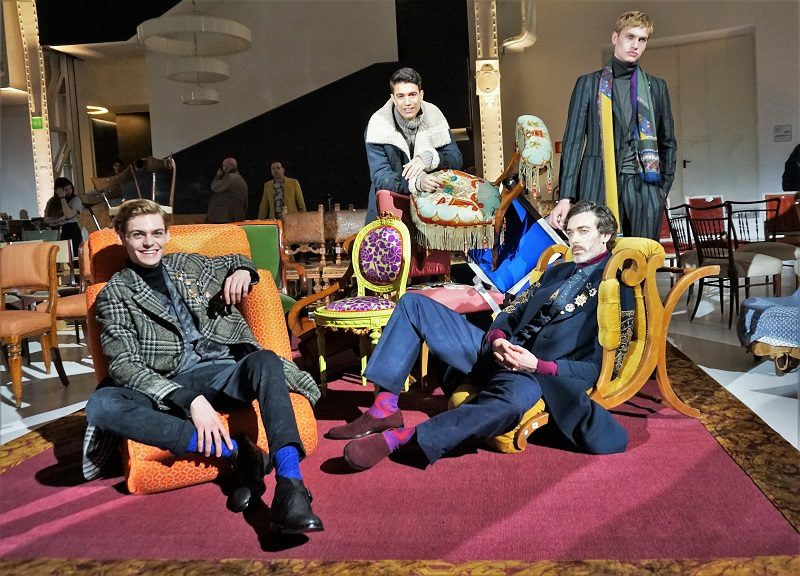 """ETRO """"Dandy Detour"""" für den Winter 2018 - Milano Moda Uomo"""