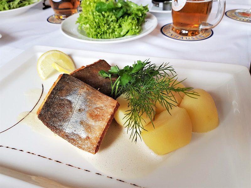 Fisch im Jadorferwirt im Tennengau bzw. Salzburger Land